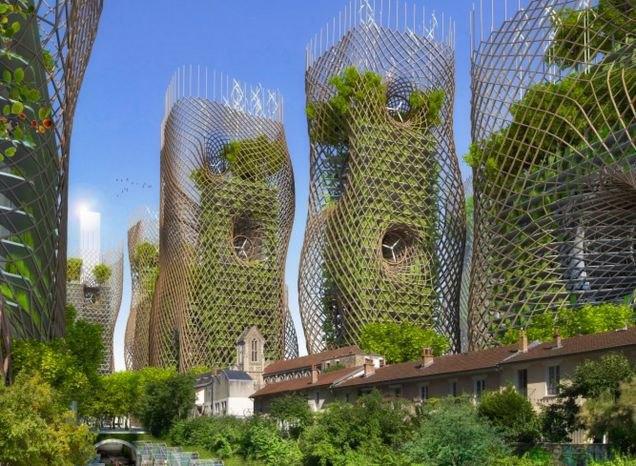 Концепт: экологически безопасный Париж. Изображение № 3.