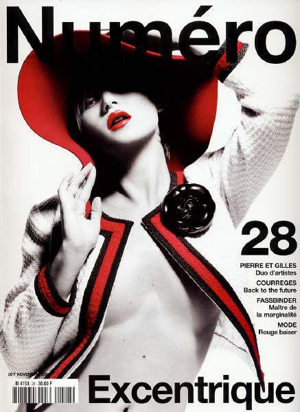 Кейт Мосс, наобложках главных модных журналов планеты. Изображение № 8.