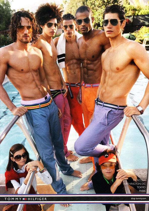 Изображение 10. Мужские рекламные кампании: Mugler, Versace и другие.. Изображение № 19.