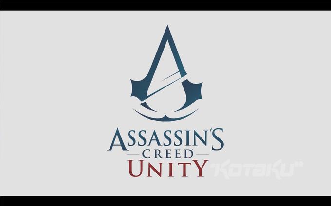 Логотип игры Assassin's Creed: Unity. Изображение № 1.