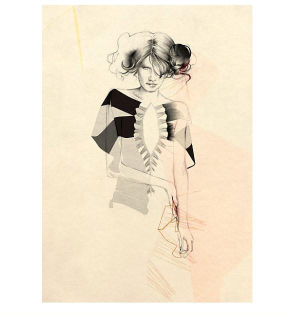 Cecilia Carlstedt — бумага, карандаш ичувства. Изображение № 7.