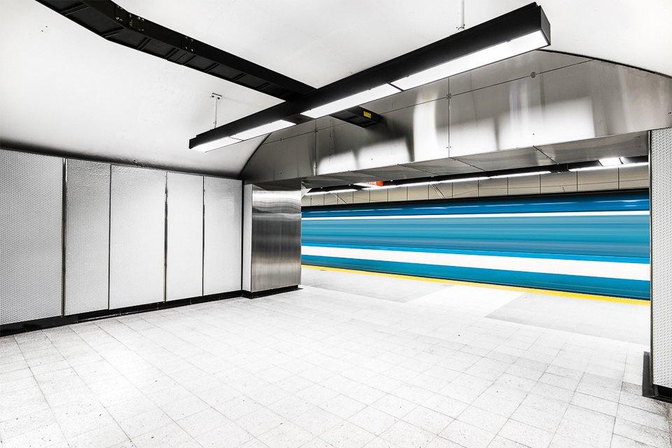 Фото: незаметная красота монреальского метро. Изображение № 5.
