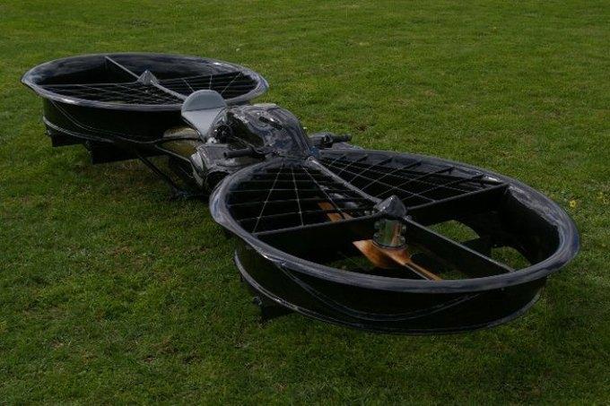 Построен прототип летающего мотоцикла. Изображение № 2.