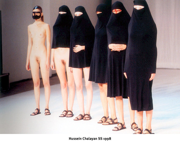Хронология бренда: Hussein Chalayan. Изображение № 8.