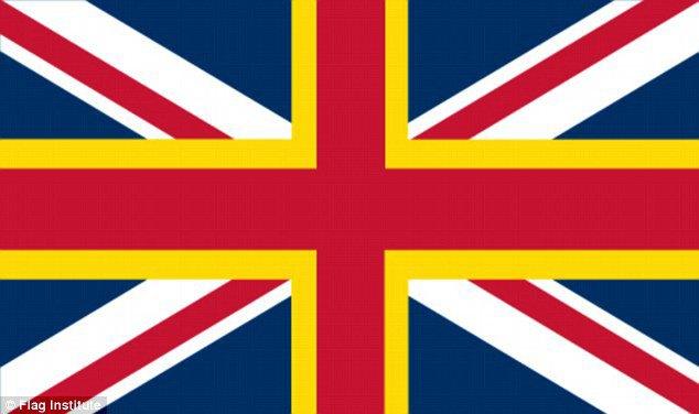 Financial Times предложила свою версию флага Великобритании. Изображение № 4.