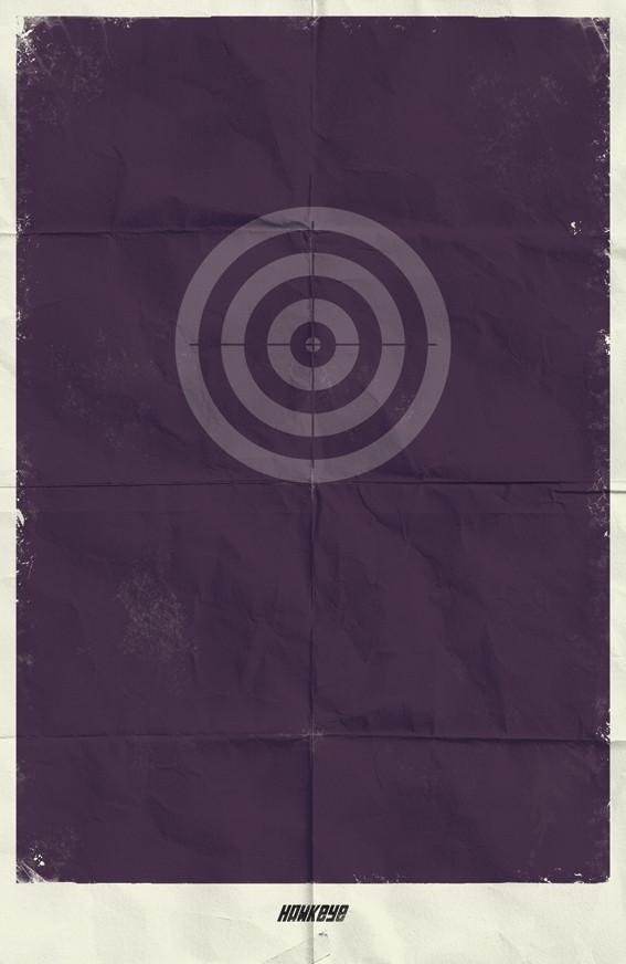 Минималистичные постеры для Marvel Comics. Изображение № 2.