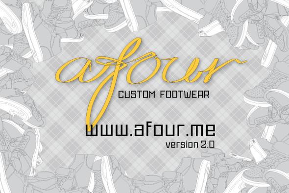 AFOUR Custom Footwear 2.0 - эксклюзивные кеды на заказ. Изображение № 1.