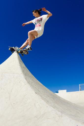 Скейтбординг – неженский видспорта. Изображение № 1.