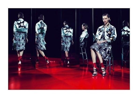 Изображение 44. Рекламные кампании: Celine, Marc Jacobs, Miu Miu и другие.. Изображение № 50.