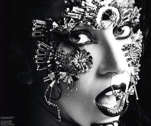 Изображение 9. Lady GaGa в журнале V. Июнь 2011.. Изображение № 9.