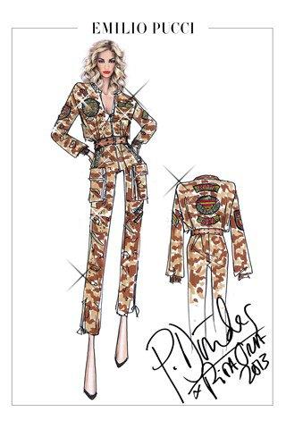 Emilio Pucci создали костюмы для тура Риты Оры. Изображение № 1.