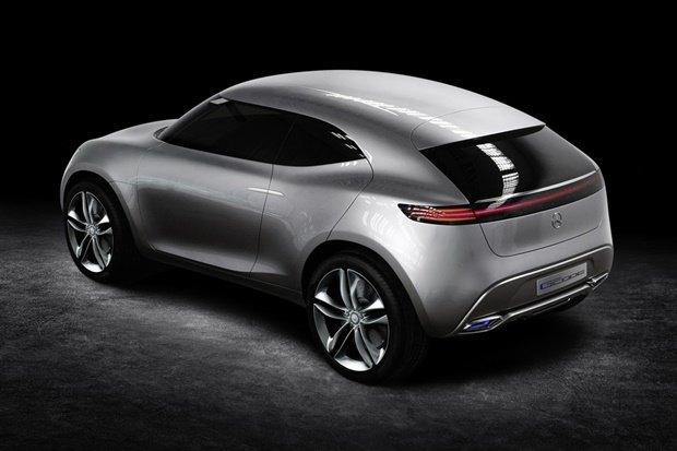 Mercedes-Benz показала концепт-кар на солнечных батареях . Изображение № 3.
