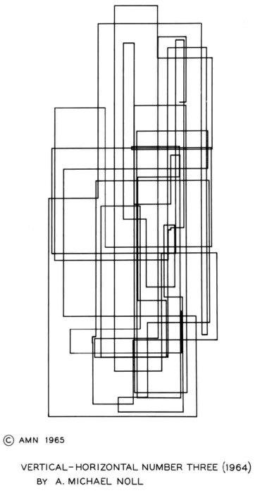 Цифровое искусство вэпоху зарождения компьютеров. Изображение № 11.