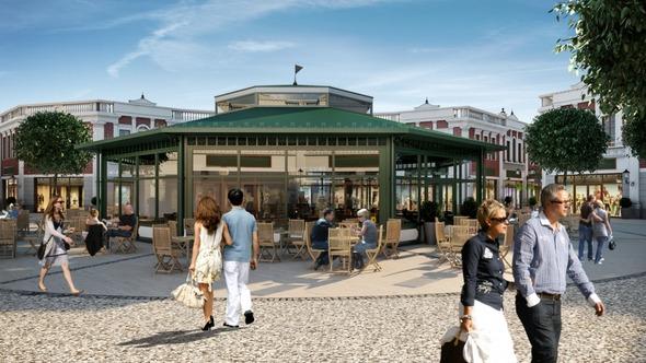 Новый аутлет дизайнерской одежды откроется в Гамбурге . Изображение № 3.