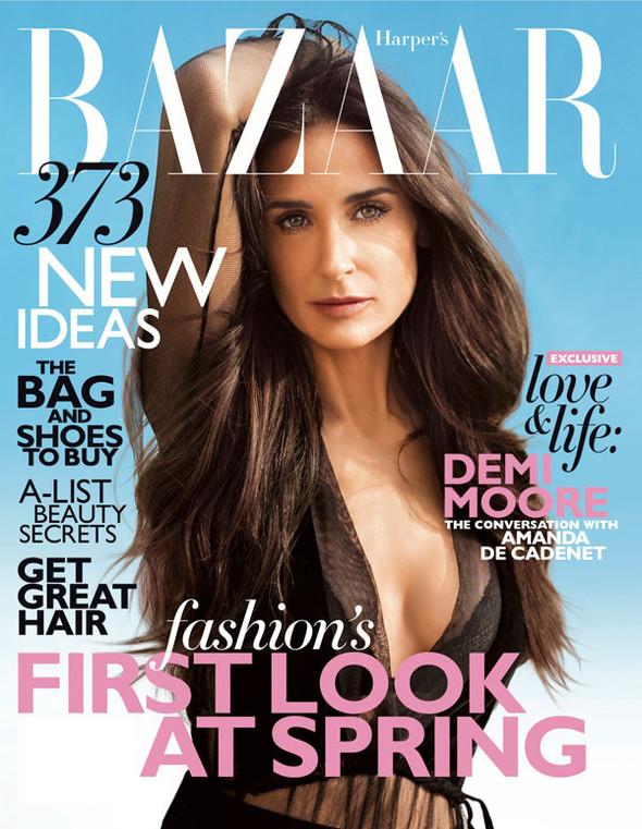 Обложки: Harper's Bazaar, Marie Claire и S. Изображение № 1.