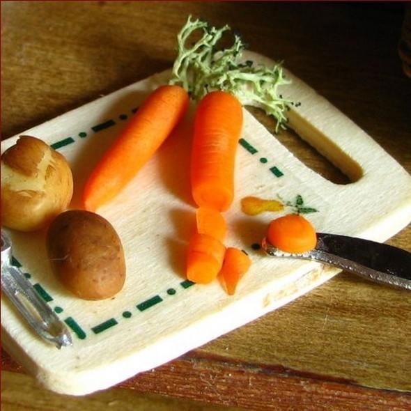 Еда в миниатюре. Изображение № 10.