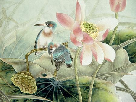 Птицы ицветы. Изображение № 6.