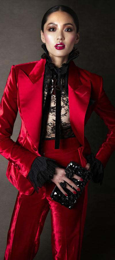 Изображение 22. Лукбук: Tom Ford FW 2011 Women's.. Изображение № 22.