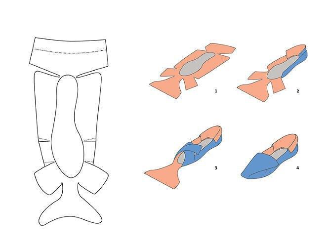 Китайский дизайнер представил складную обувь-оригами. Изображение № 4.