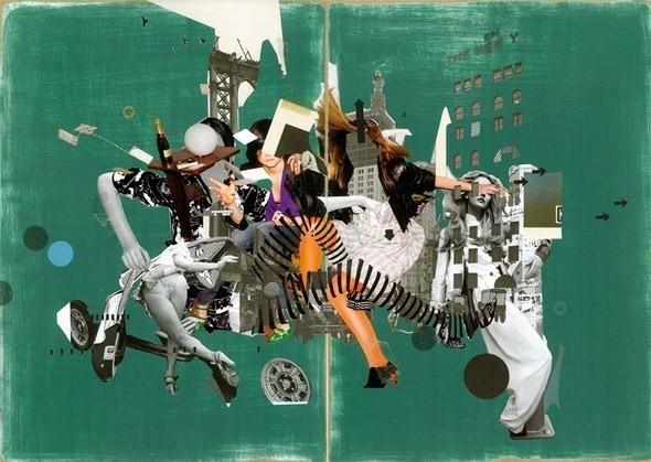Изображение 44. Выставка: International Weird Collage Show.. Изображение № 44.