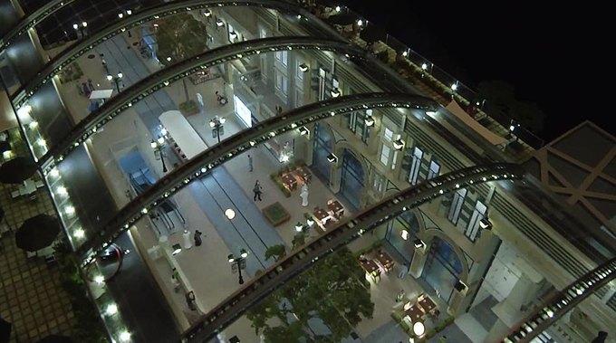 В Дубае построят улицу с регулируемой температурой. Изображение №2.