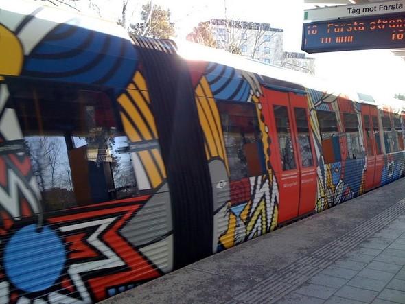 Шведский метрополитен. Изображение № 10.