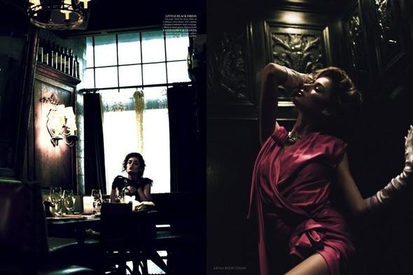 Съёмка: Николь Тренфио для LoveCat. Изображение № 6.