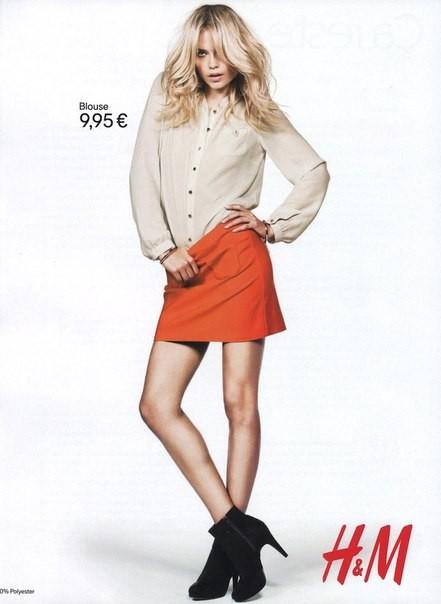 Кампания: Наташа Поли, Изабели Фонтана и Дарья Вербова для H&M. Изображение № 5.