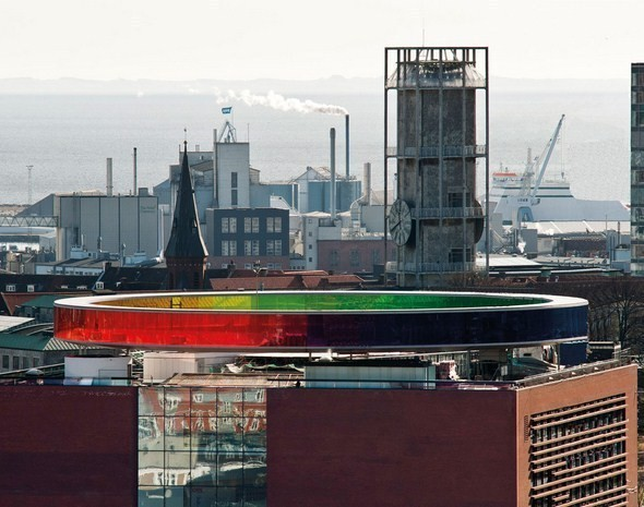 Изображение 6. Архитектурное бюро Olafur Eliasson придумало радужную панораму.. Изображение № 6.