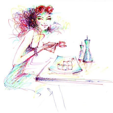 Иллюстрации Antoinette-Fleur. Изображение № 13.