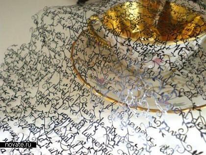 Необыкновенные кружева изобычной бумаги. Hina Aoyama. Изображение № 5.