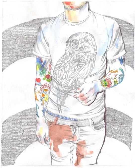 Иллюстратор Esra Roise. Изображение № 1.