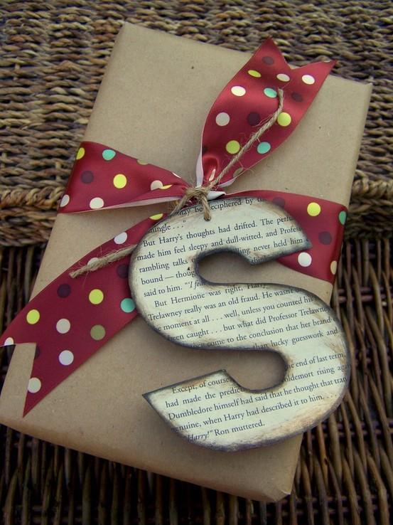 55 идей для упаковки новогодних подарков. Изображение № 71.