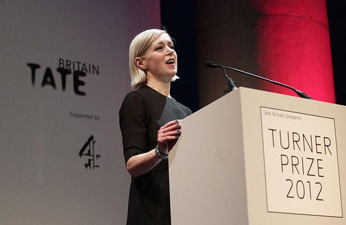 Элизабет Прайс на вручении премии в Tate Britain. Изображение № 1.