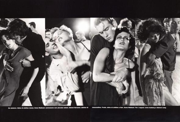 Архивная съёмка: сет Fashion Marathon из итальянского Vogue за 1997 год. Изображение № 14.