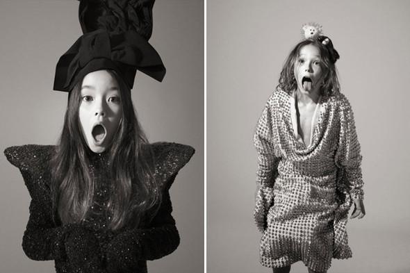 Мамина помада, сапоги старшей сестры: дети вкутюре. Изображение № 4.