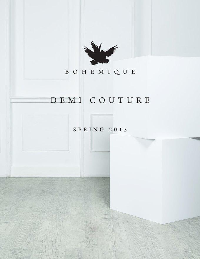 Российская марка Bohemique выпустила новую коллекцию. Изображение № 1.
