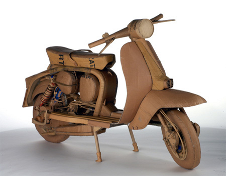 Chris Gilmour картонный скульптор. Изображение № 9.