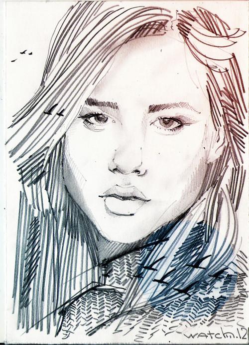 Sketch portraits. Изображение № 11.