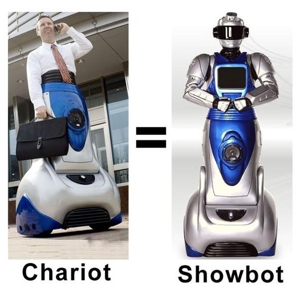 Практичные новинки: Showbot иChariot. Изображение № 8.