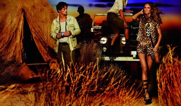 Кампания: Кармен Педару для Michael Kors SS 2012. Изображение № 2.