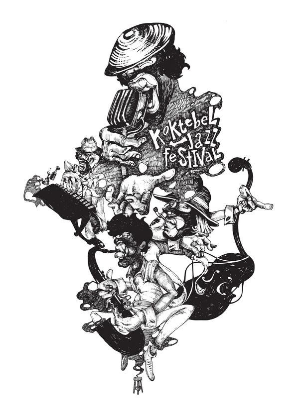 Изображение 18. Кастинг принтов для футболок SEKTA: Koktebel Jazz Fest.. Изображение № 18.