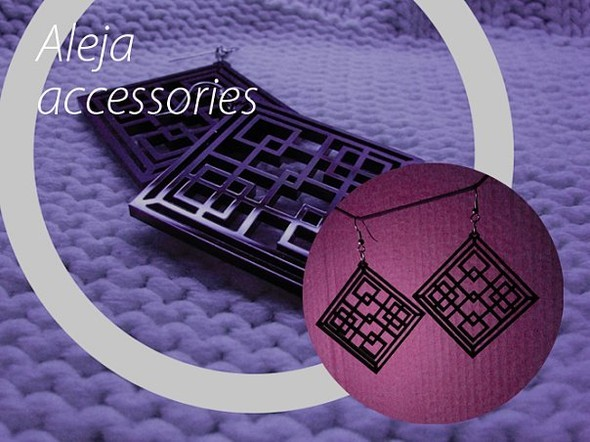 Aleja accessories - серьги из акрила. Сам себе дизайнер. Изображение № 10.