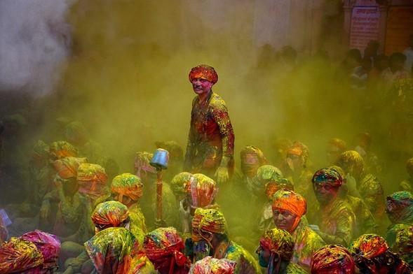 Торжество цвета. Poras Chaudhary. Изображение № 4.