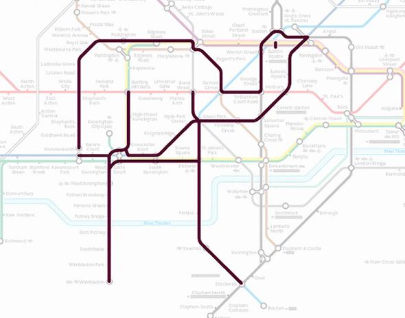 Осторожно! Звери в лондонском метро!. Изображение № 8.
