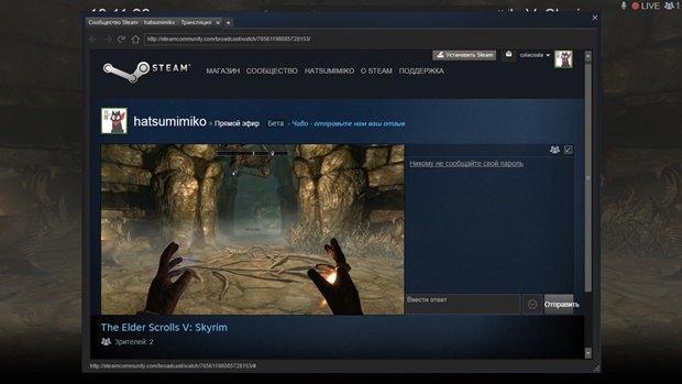 Трансляции в Steam теперь доступны для всех. Изображение № 1.
