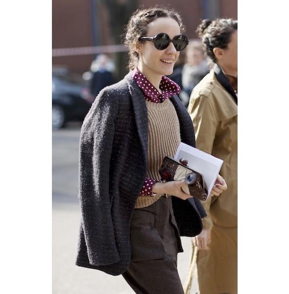 Изображение 26. На полях: 10 тенденций уличного стиля с прошедших недель моды.. Изображение № 26.