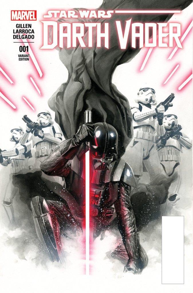 Marvel показала обложку комикса о Дарте Вейдере. Изображение № 1.
