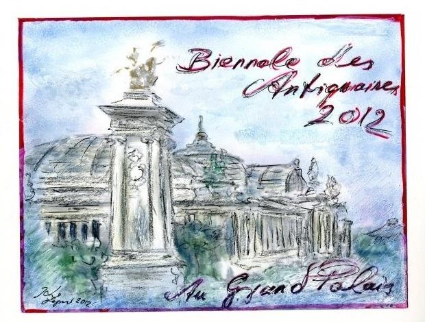 Карл Лагерфельд воссоздал парижские улицы для Biennale des Antiquaires. Изображение № 3.