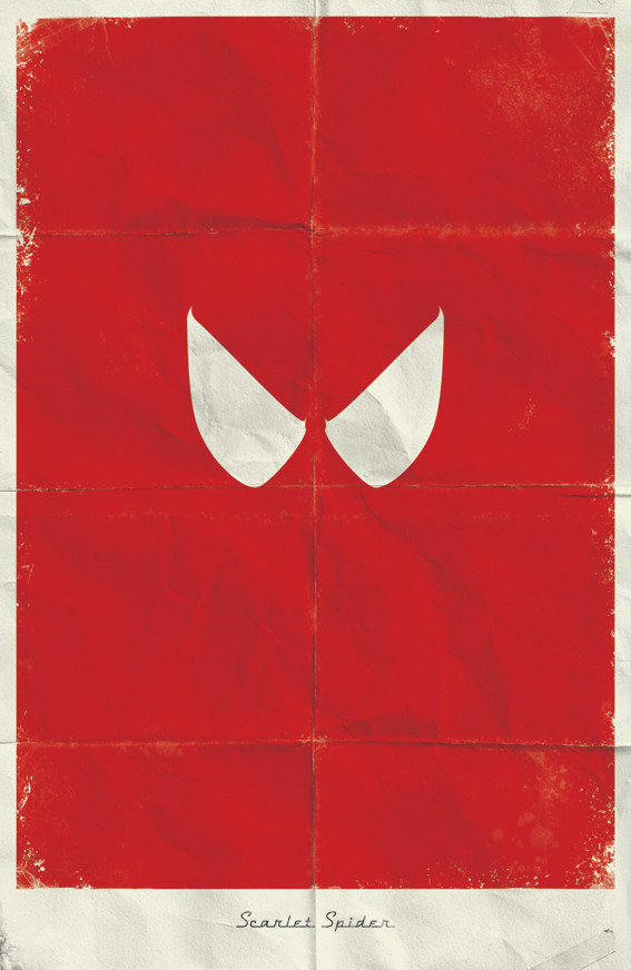 Минималистичные постеры для Marvel Comics. Изображение № 7.